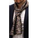 Foulard écharpe en soie homme CBF E927