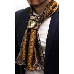 foulard charpe en soie homme 928 fabriqu en france made in france. Black Bedroom Furniture Sets. Home Design Ideas