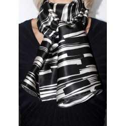 Foulard écharpe en soie cbfe2024