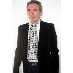 Foulard écharpe en soie homme CBF EH2027