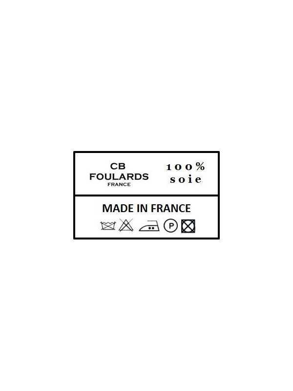 Foulard écharpe en soie homme CBF EH1929