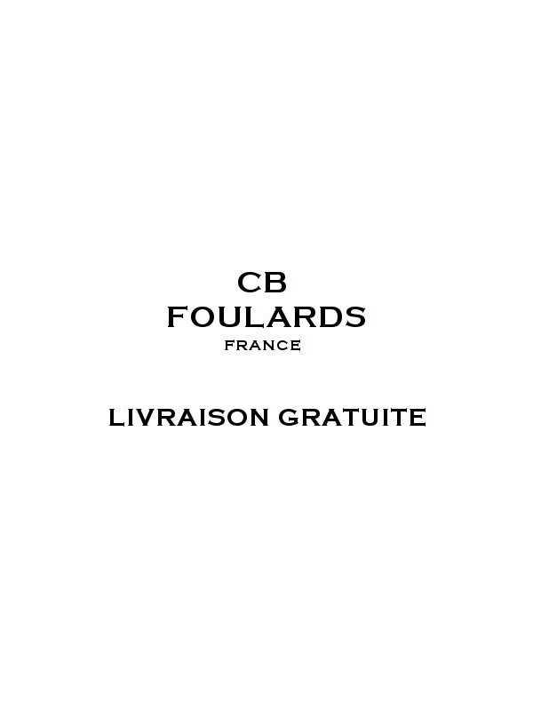 Foulard écharpe en soie homme CBF EH2023
