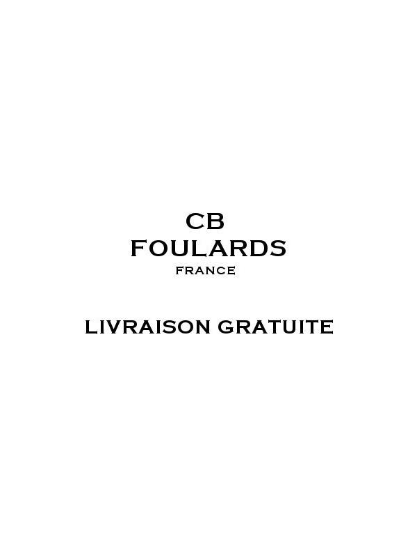 Foulard écharpe en soie homme CBF EH2105