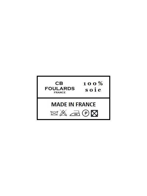 Foulard carré en soie Homme CBFCH2110