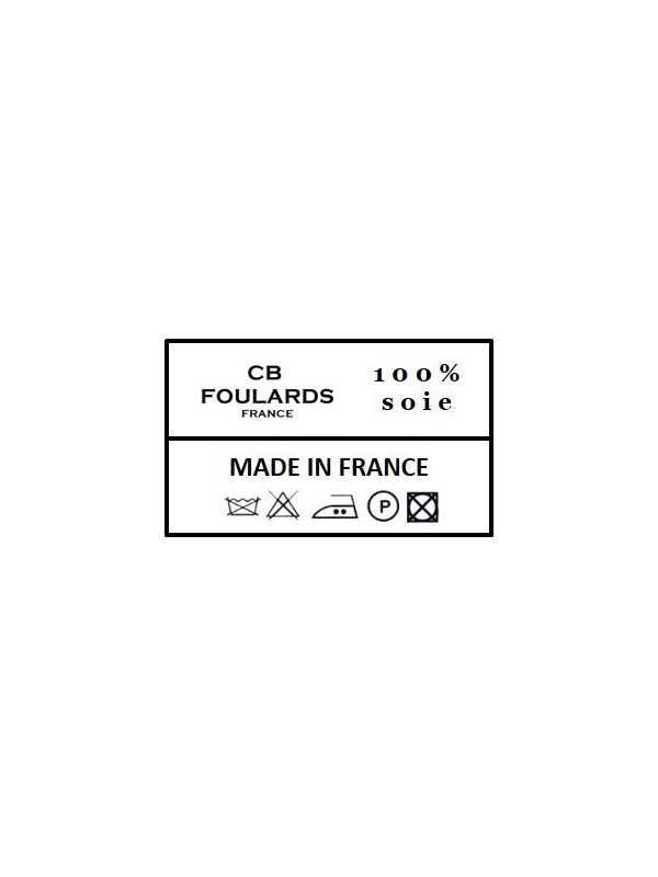 Foulard Carré en soie femme CBF2135