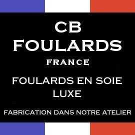 Foulard soie luxe